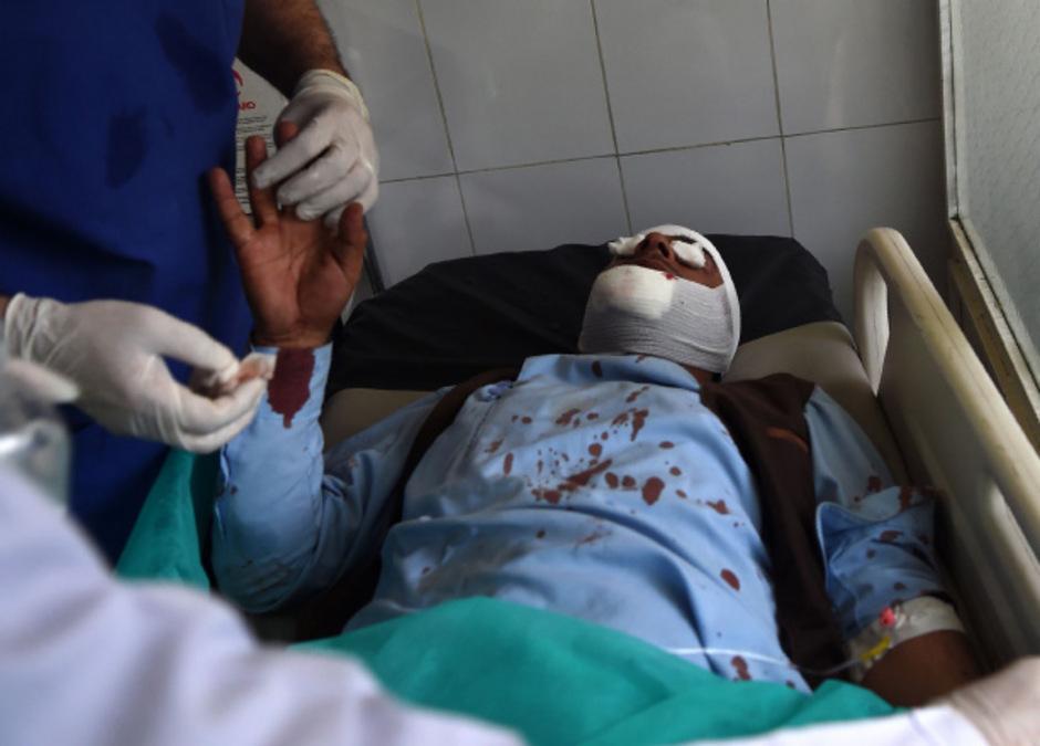 Mindestens 42 Menschen wurden bei dem Anschlag am Donnerstag verletzt.