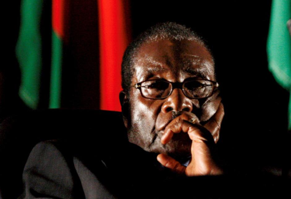 Robert Mugabe im Jahr 2008.