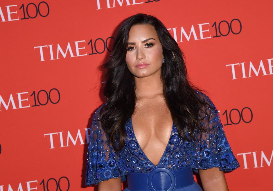Sängerin Demi Lovato.