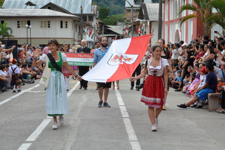 Kolonistentag am 25. Juli 2019: Dieses Fest ist alljährlicher Höhepunkt im Jahreskreis von Pozuzo.