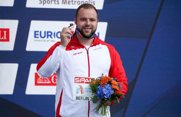 Lukas Weißhaidinger – vor knapp einem Jahr feierte er mit EM-Bronze in Berlin seinen bislang größten sportlichen Erfolg.