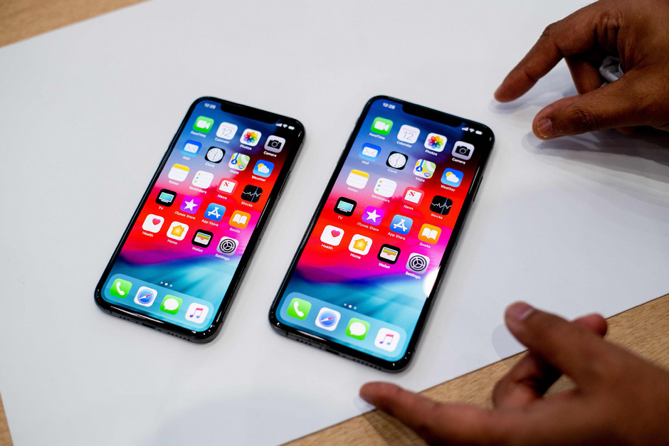 So sehen das iPhone Xs (l.) und das Xs Max aus.