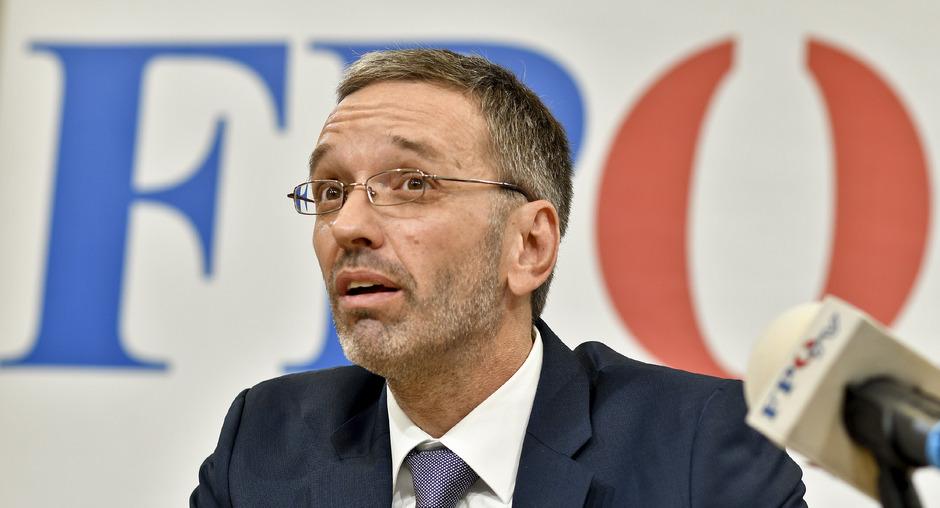 Der geschäftsführende FPÖ-Klubobmann und ehemalige Innenminister Herbert Kickl.