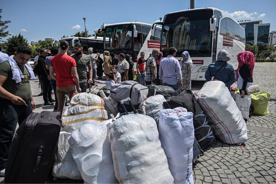 Geflüchtete Syrer in der Türkei. (Symbolfoto)