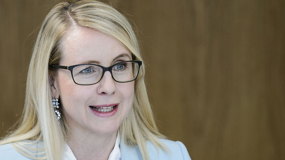 Margarete Schramböck, Spitzenkandidatin der ÖVP zur Nationalratswahl 2019