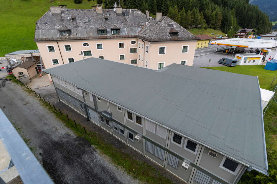 Im alten Zollhaus wird ein grenzüberscheitendes Naturgefahrenmanagement sowie ein internationales Kontaktbüro für die Polizei eingerichtet.