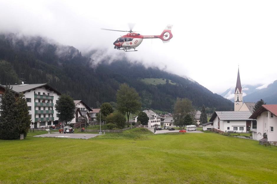 Im Lechtal wurde am Freitag bei Nebel nach einem abgestürzten Alpinisten gesucht.