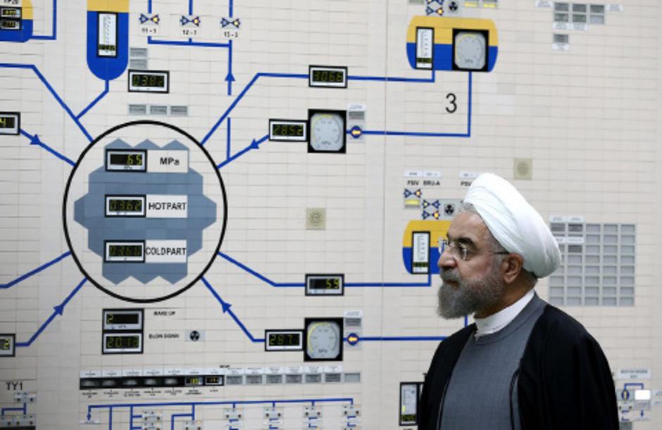 Irans Präsident Hassan Rouhani.