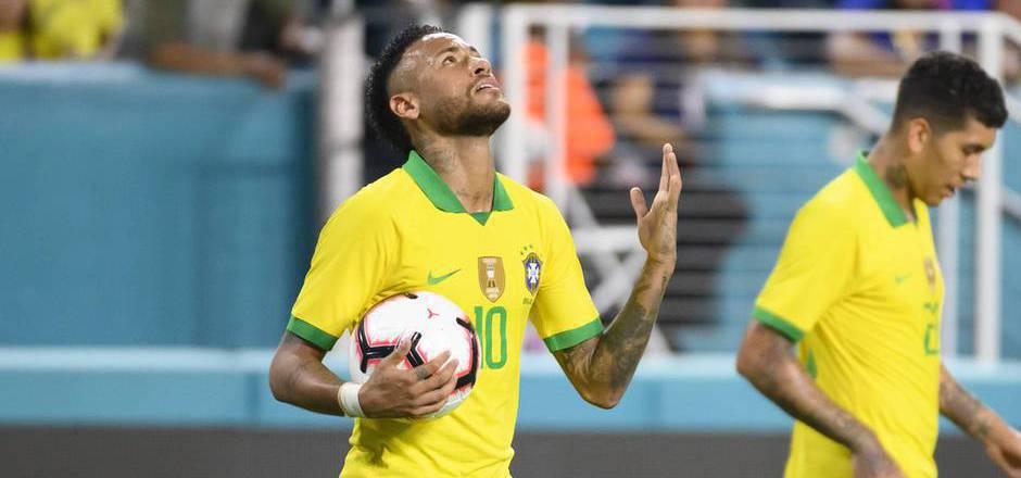 Neymar sorgte in Miami wieder einmal für sportliche Schlagzeilen.