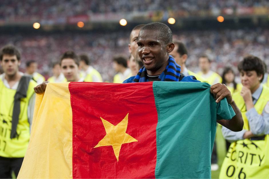 Samuel Eto'o schoss sich nicht nur in seiner Heimat Kamerun in die Geschichtsbücher.