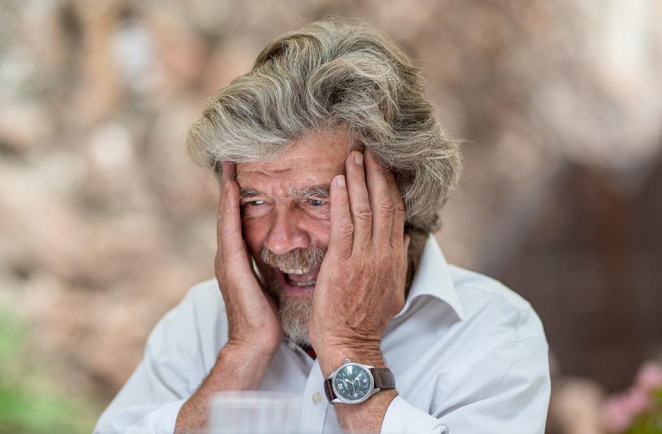 """Reinhold Messner hat schon """"ungefähr 50 Bücher"""" geschrieben. Einen Ghostwriter brauchte er dafür aber nie."""