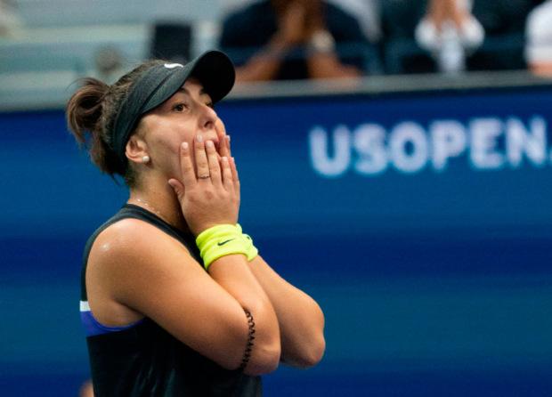 Bianca Andreescu konnte es nicht glauben.