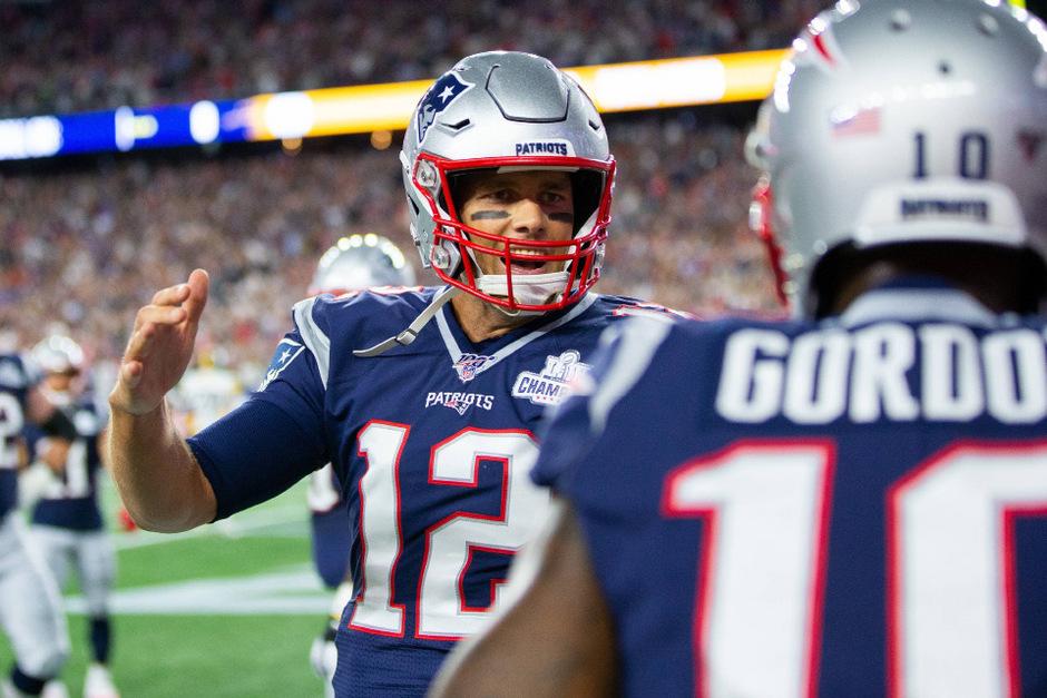 Mit 42 Jahren noch kein bisschen leise: New-England-Quarterback Tom Brady.