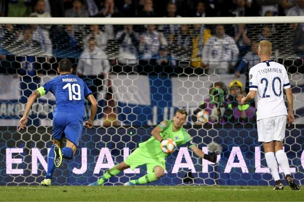 Per Hand-Elfmeter sorgte Jorginho für die Entscheidung zu Gunsten Italiens.