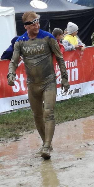 Gernot Riedel war auch erstmals selbst am Start.