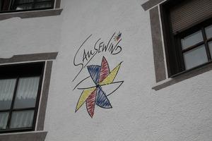 Aus dem Gemeindeamt wurde die Kinderkrippe Sausewind.