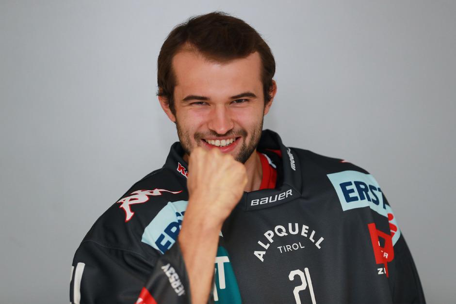 Fiebert seinem EBEL-Debüt entgegen - Felix Brunner.