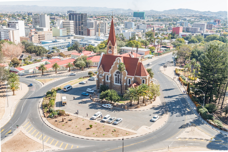 Namibias Hauptstadt Windhuk.
