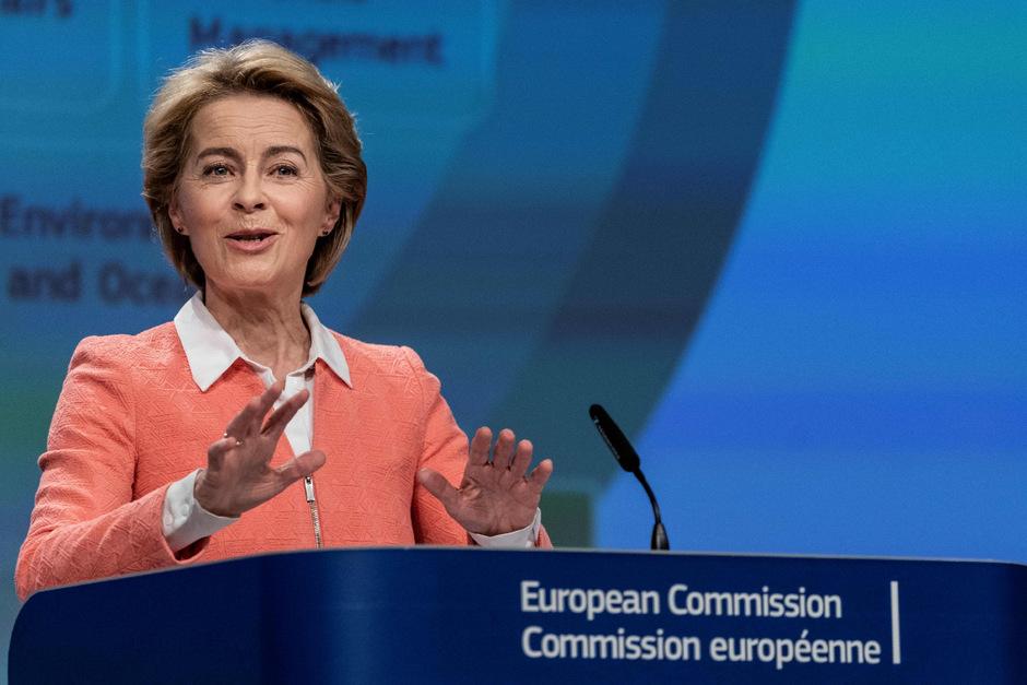 """Eine Kommission, die """"entschlossen vorgeht"""" und """"Antworten liefert"""" will die künftige EU-Kommissionspräsidentin Ursula Von der Leyen."""