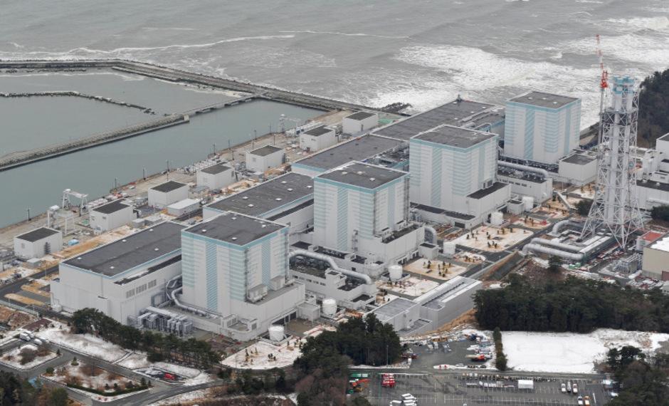 Die Atomanlage in Fukushima.