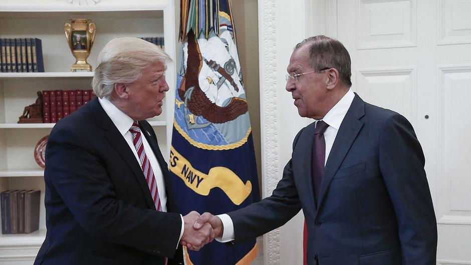 Das Treffen am 10. Mai 2017 mit dem russischen Außenminister hatte für Trump weitreichende Folgen. Es befeuerte die Russland-Ermittlungen.