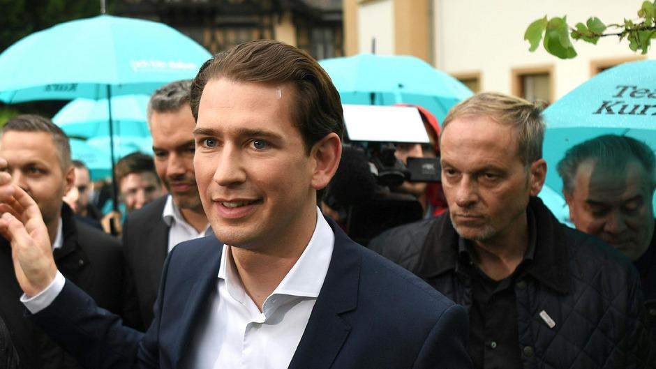 ÖVP-Bundesparteiobmann Sebastian Kurz.