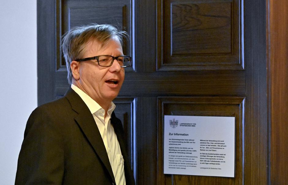 Der als Zeuge geladene ehemalige FMA-Vorstand Heinrich Traumüller.