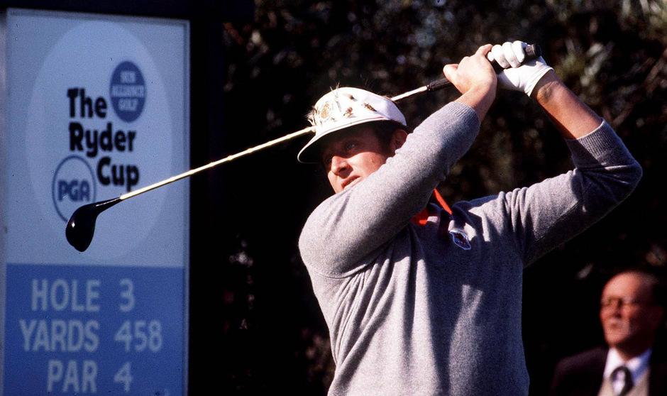 Mit seinen Auftritten beim Ryder Cup erlangte Brian Barnes Legendenstatus.