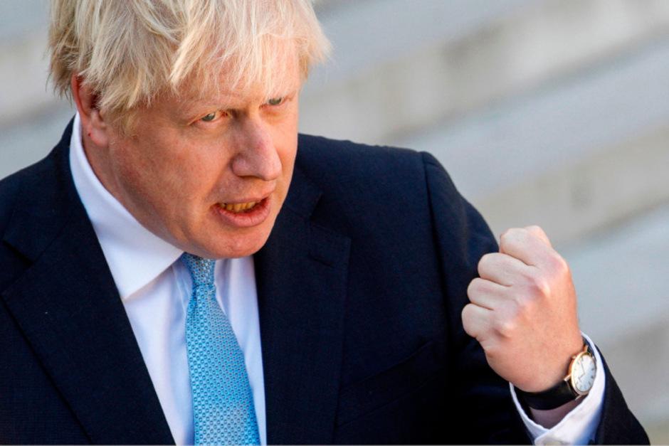 Boris Johnson hat erneut eine Abfuhr kassiert.