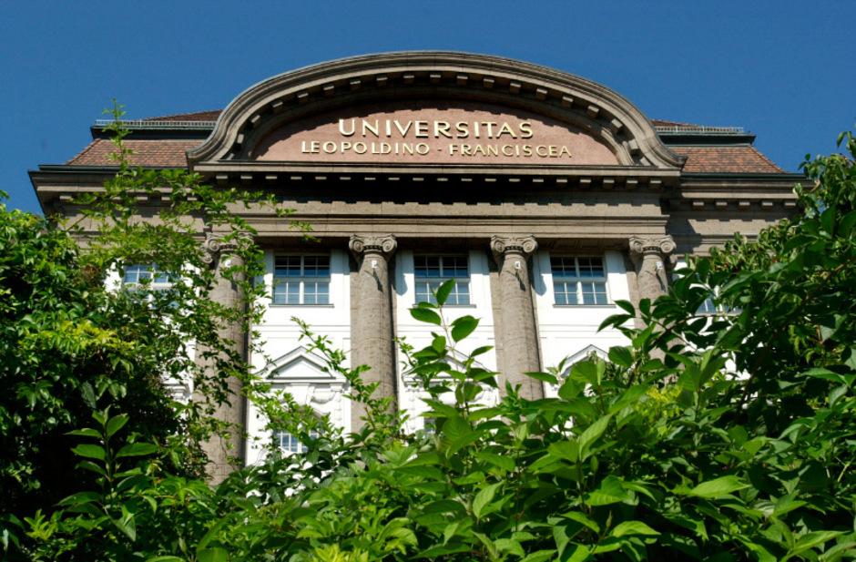 Die Leopold-Franzens-Universität Innsbruck.