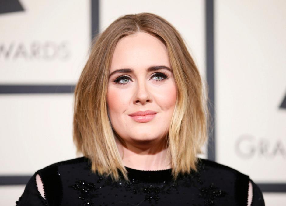Popstar Adele.