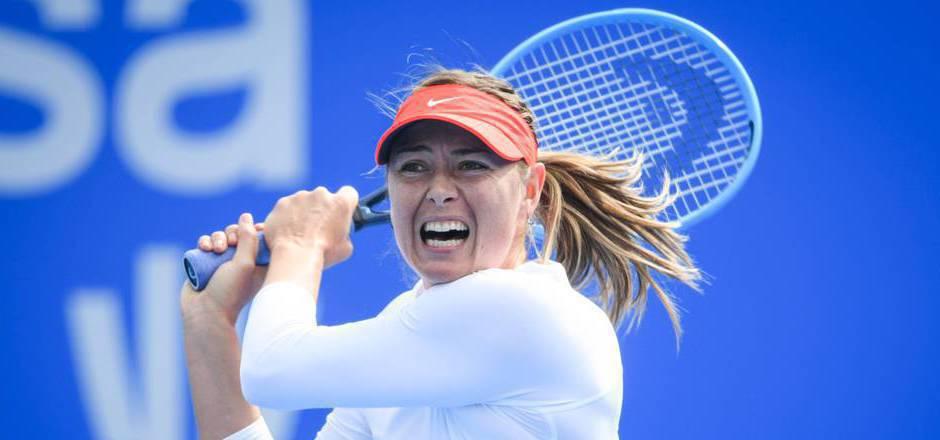 Die fünffache Major-Gewinnerin Maria Scharapowa fiel in der Tennis-Weltrangliste mittlerweile aus den Top 100.