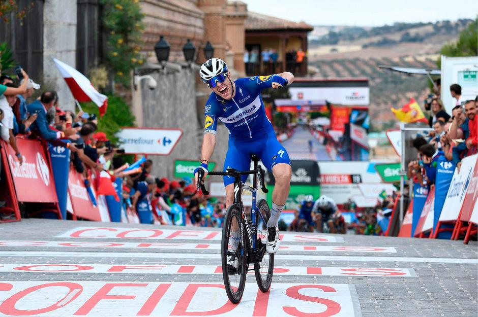 Remi Cavagna entschied die 19. Vuelta-Etappe für sich.