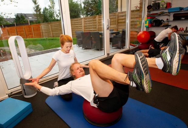 Seit nunmehr fünf Jahren schuftet Manuel Feller vornehmlich in Salzburg für seine Fitness.