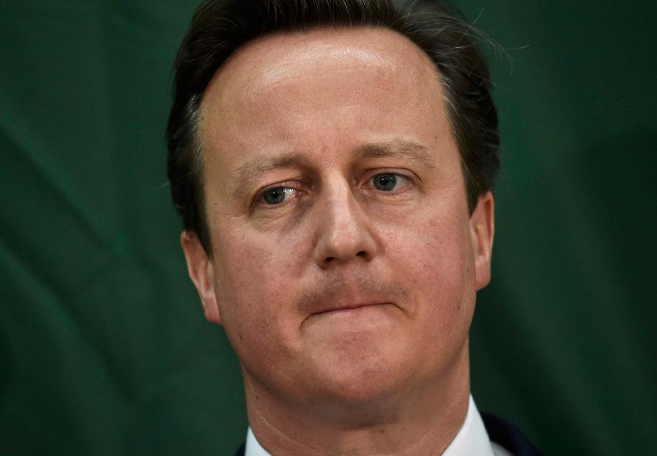 Ex-Premier David Cameron.