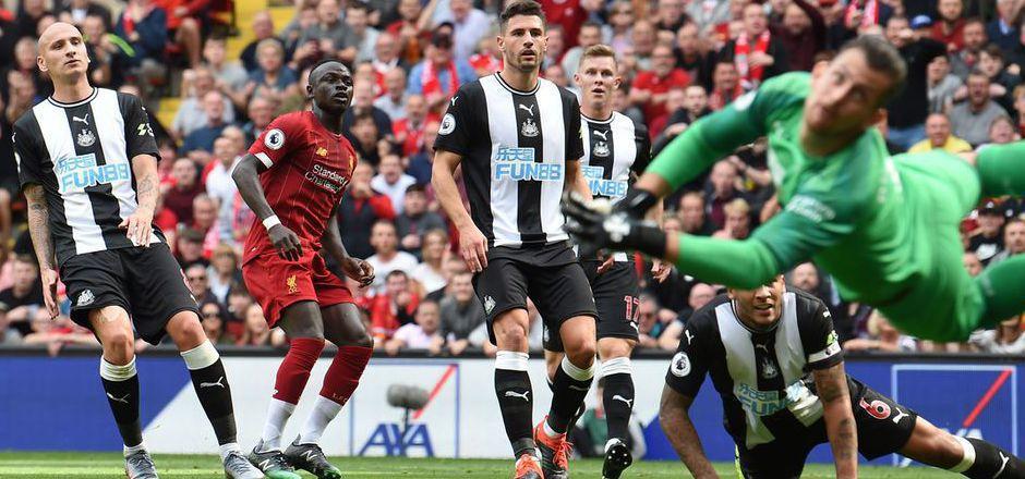 Liverpool-Angreifer Sadio Mane drehte die Partie gegen Newcastle quasi im Alleingang.