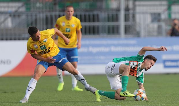 WSG-Routinier Florian Mader bestritt an seinem 37. Geburtstag sein 300. Bundesliga-Spiel.