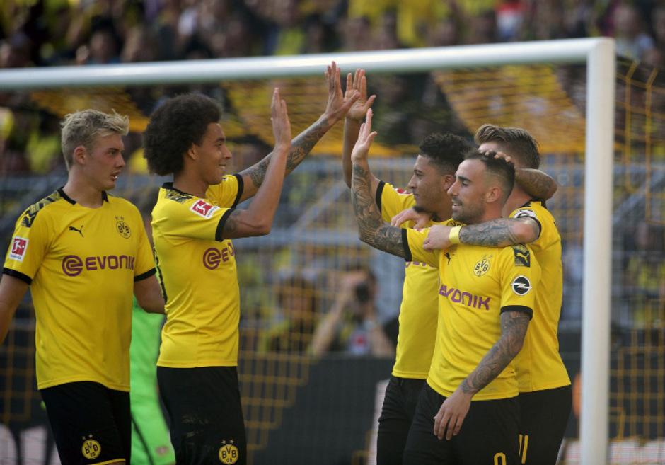Borussia Dortmund schoss sich gegen Leverkusen den Frust von der Seele.