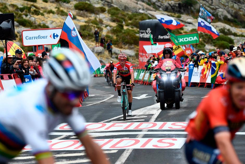 Primoz Roglic verteidigte die Gesamtführung bei der Vuelta in souveräner Manier.