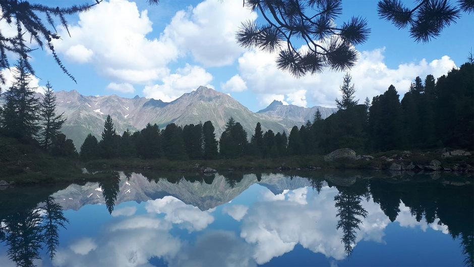 TT-Leserin Daniela Auer ist diese schöne Aufnahme vom Berglisee im Paznaun geglückt.