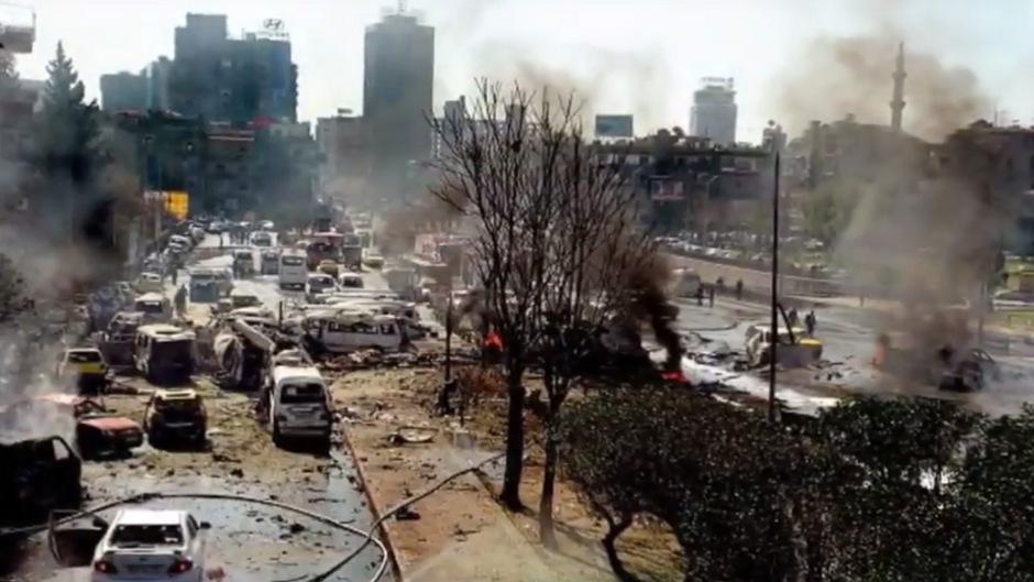Auch Teile von Damaskus wurden in den Kriegswirren stark zerstört.