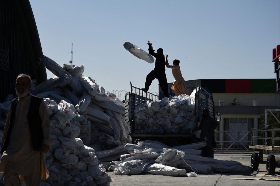 Die Wahlvorbereitungen in Afghanistan werden von Gewalt überschattet.