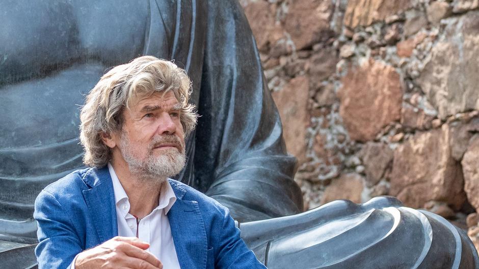 Reinhold Messner im August 2019 in Südtirol.