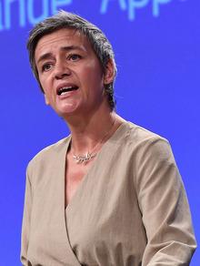 EU-Wettbewerbskommissarin Margrethe Vestager.