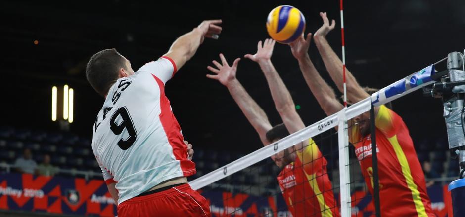 Diagonalspieler Zass hatte das Spiel der Seinen in Satz zwei mit acht Punkten getragen, der Tiroler war auch ÖVV-Topscorer in Durchgang drei.