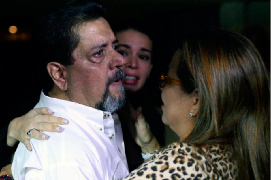Edgar Zambrano nach seiner Freilassung in Caracas.