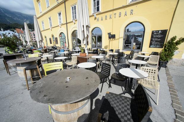 Das Restaurant Cammerlander mit TapaBar am Marktplatz in Innsbruck,