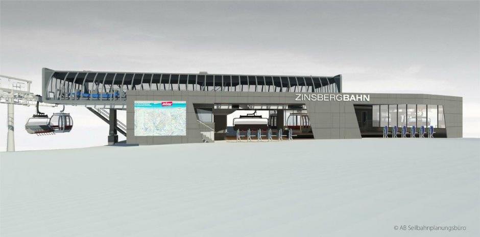 Noch heuer soll der neue Kombilift Zinsbergbahn in Brixen im Thale seinen Betrieb aufnehmen.