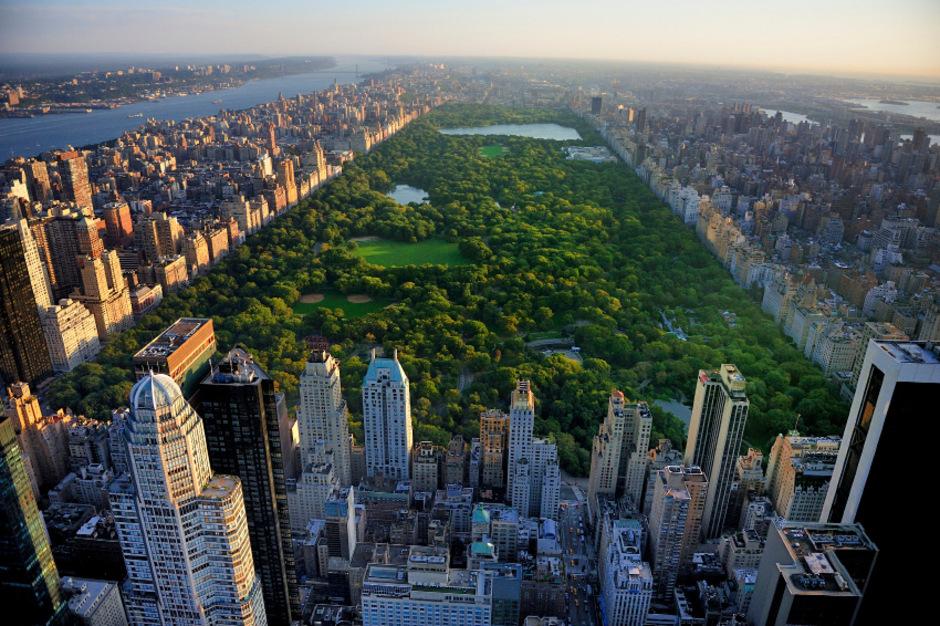 Blick auf den Central Park in New York.