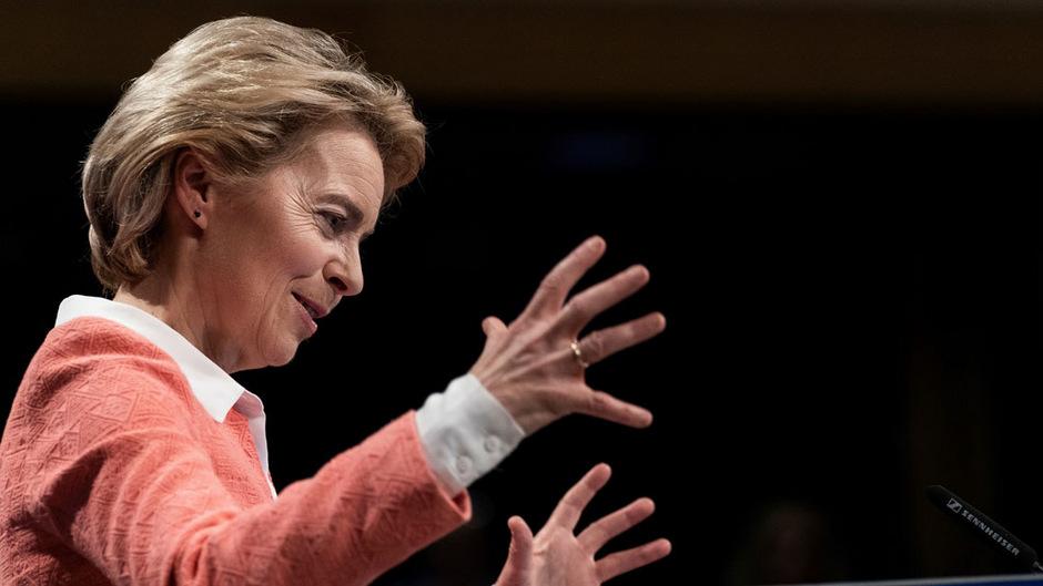 Die neue Kommissionschefin Ursula Von der Leyen hat sich dem Kampf gegen den Klimawandel auf die Fahnen geschrieben.